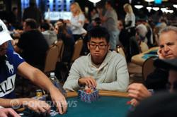 Chip Leader Ronald Lee- 122,700