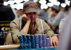 Peter Hernandez, Chip Leader After Day 1