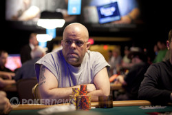 Chip leader Ron Ware