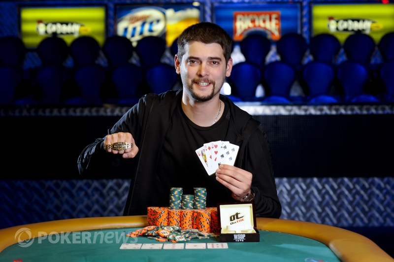Event 22 Bracelet Winner Elie Payan