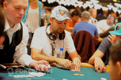 Daniel Negreanu begins Day 2 as our chip leader!