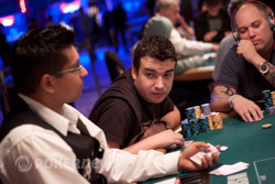 Chris Moorman is in the chip-lead with 1,047,000