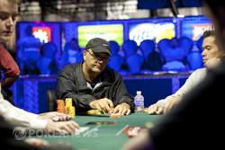 Denis Ethier Finds A Flush At Final Table