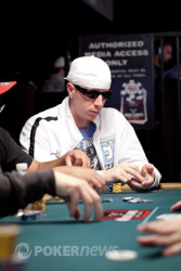 Josh Brikis will return on Day 3 as one of the short stacks.
