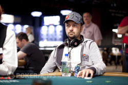 Daniel Negreanu among the chip leaders