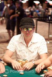 Arkadiy Tsinis Will Enter Day 4 With the Chip Lead