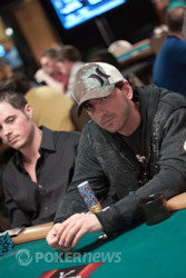 Mike Souza - Chipleader With 27 players left