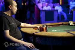 Michael Blanovsky finds a double