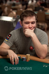 Eugene Katchalov going for a second bracelet this year.
