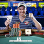 Matt Jarvis, winner of the 5k No limit Hold'em