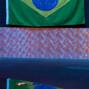 Akkari rail showing their Brazilian pride.