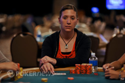 Valerie McColligan - Our Chip Leader Going into Day 3