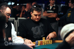 Anibol Andres - Chipleader to start Day 3