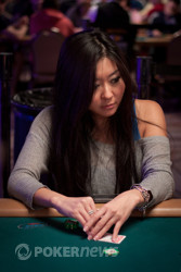 Maria Ho -- future actress in low buy-in tournaments.