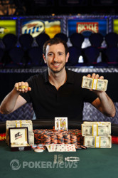 Brian Rast is the bracelet winner in event 55, The Players' Championship.