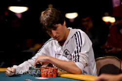 Hasan Anter - Day 4 chip leader