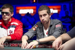 2010 Main Event Champ Jonathan Duhamel is still in the hunt for a repeat performance