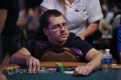 Daniel Cates Couldn't Get His Flush Draw to Hit