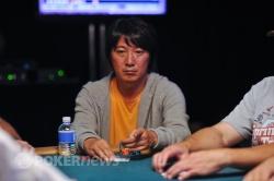 Masa Kagawa took a hit to his stack.