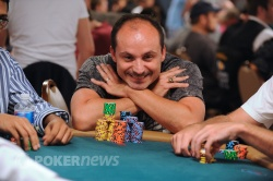 Tentative Day 1d chip leader Mory Little