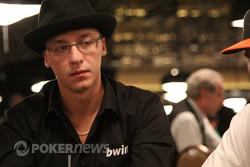 Dmitrijs Meļešs WSOP ME 1D dienā