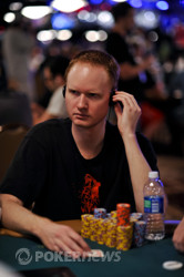 Jon Turner joined Cernuto at the payout desk.