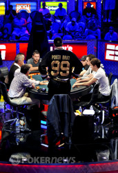 Phil Hellmuth knocked out right before the money bubble.