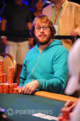 Ryan Lenaghan - chip leader