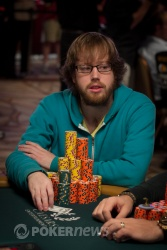 Ryan Lenaghan on Day 6 -- looks exactly the same today, but with more chips