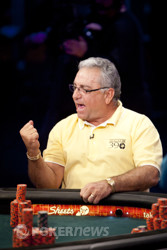 John Esposito shows his excitement after winning the above mentioned hand.