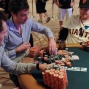 Eoghan O'Dea stacks a massive pot after eliminating Andrew Hinrichsen at end of day 7