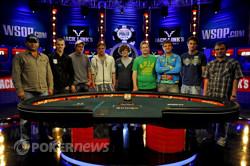 The 2011 World Series of Poker Main Event November Nine.