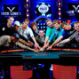 November nine surrounds WSOP Tournament Director Jack Effel