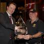 Champion Leo Boxell with Jim Preston