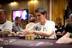 Guillame Humbert - Our Day Two Chip Leader