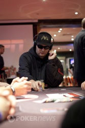 Phil Hellmuth - One of The Chip Leaders!