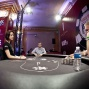 Tristan Wade and Michael Watson battle it out for the WSOPE bracelet