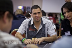 Robert Mizrachi (with the shoulders of Devonshire and Mizzi in the foreground)