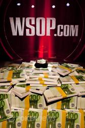 The WSOP Bracelet and cash prize