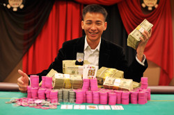 2011 World Series of Poker Circuit Harrah's Atlantic City Main Event Champion: Tuan Phan