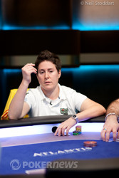 Vanessa Selbst doing what she does best.