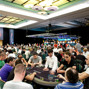 Tournament room on Day 1b