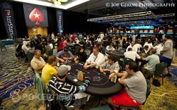 Shrinking tournament area
