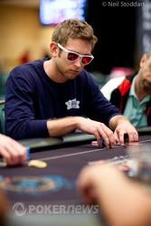 Connor Drinan loses a big pot.