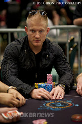 Jason Koon records the double knockout, and is just short of a million chips.