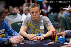 Martin Jacobson now commands a top-ten stack.