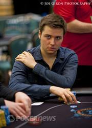 "Yevgeniy Timoshenko can't hold against Peters' ""pretty light"" hand"