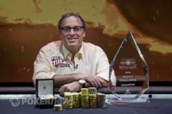 Dan Shak and his 2010 Aussie Millions $100,000 Challenge trophy