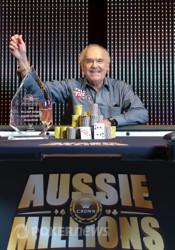 2011 Aussie Millions Main Event champion David Gorr