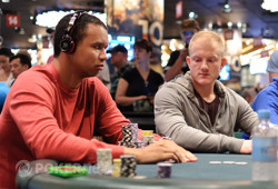 Phil Ivey and Jason Koon